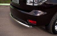 Защита заднего бампера d76 (дуга) для Nissan Patrol (2010 -) PAZ-000785