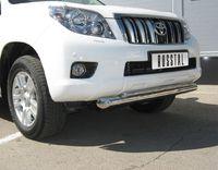 Защита переднего бампера d76/42 (Дуга) для Toyota LC Prado 150 (2009 -) PNZ-000472