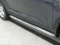 Пороги труба d63 (вариант 1) для Mitsubishi Pajero Sport (2010 -) PST-000927/1