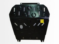 Защита картера двигателя и кпп для Nissan Micra (2002 -) Патриот PT.124