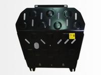 Защита картера двигателя и кпп для Seat Ibiza (2002 -) Патриот PT.144