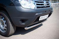 Защита переднего бампера d63 (дуга) короткая для Renault Duster 4x4 (2012 -) RD2Z-000435-4x4