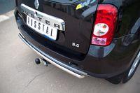Защита заднего бампера d42 (дуга) для Renault Duster 4x4 (2012 -) RD4Z-000444-4x4