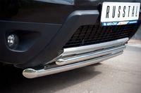 Защита переднего бампера d63/42 для Renault Duster 4x4 (2012 -) RD4Z-000446-4x4