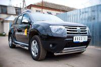 Защита переднего бампера d63/42 для Renault Duster (2012 -) RD4Z-000446