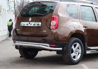 "Защита задняя ""волна"" d60 для Renault Duster 4x4 (2012 -) RDUS.75.1450"