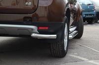 "Защита задняя ""уголки"" d60 для Renault Duster 4x4 (2012 -) RDUS.76.1447"