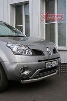 Защита переднего бампера d76 одинарная для Renault Koleos (2008 -) RENK.48.0728