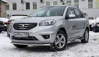Защита переднего бампера труба d60 Premium для Renault Koleos (2012 -) RENK.48.1593