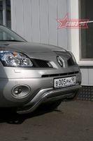 Решетка передняя мини d60 низкая для Renault Koleos (2008 -) RENK.56.0726