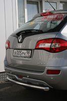 Защита заднего бампера d60 короткая для Renault Koleos (2008 -) RENK.75.0734