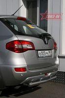 Защита заднего бампера d76 короткая для Renault Koleos (2008 -) RENK.75.0735
