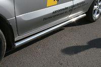 Пороги труба d60 для Renault Koleos (2008 -) RENK.80.0732