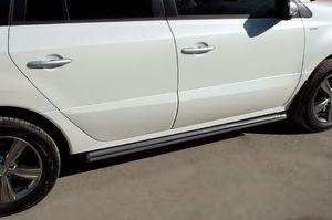 Пороги труба d63 (вариант 2) для Renault Koleos (2012 -) RKT-0005852