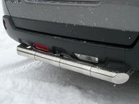 Защита заднего бампера d63 для Renault Koleos (2012 -) RKZ-000589