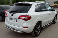 Защита заднего бампера d76 для Renault Koleos (2012 -) RKZ-000590