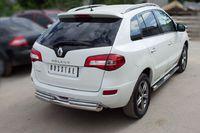 Защита заднего бампера d76/42 для Renault Koleos (2012 -) RKZ-000592