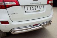 Защита заднего бампера d63/42 для Renault Koleos (2012 -) RKZ-000593