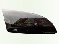 Защита передних фар для Ford Focus 2 Седан (2005 - 2011) SIM Dark SFOFO20522