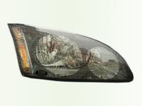 Защита передних фар для Ford Focus 2 Хэтчбэк (2005 - 2011) SIM Carbon SFOFO30823