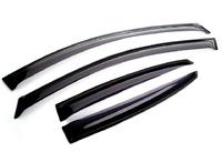 Дефлекторы окон для Mazda 3 Седан (2003 - 2009) SIM Dark SMAMA30532