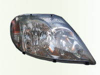 Защита передних фар для Mitsubishi Lancer 9 Седан (2000 -) SIM Clear SMILAN0021