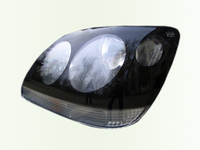 Защита передних фар для Toyota Avensis (1997 - 2003) SIM Dark Eyes STOCAL9824
