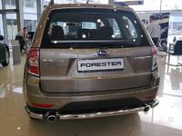 Защита задняя (центральная) d60 для Subaru Forester (2008 -) SUBFOR09-06