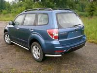 Защита задняя (уголки) d60 для Subaru Forester (2008 -) SUBFOR09-07