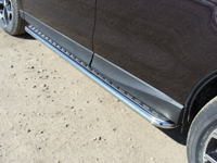 Пороги с площадкой 42,4 мм для Subaru Forester (2013 -) SUBFOR13-05