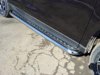 Пороги с площадкой 60,3 мм для Subaru Forester (2013 -) SUBFOR13-06