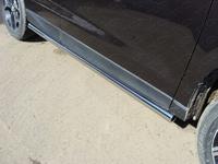 Пороги труба 60,3 мм для Subaru Forester (2013 -) SUBFOR13-09