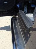 Пороги с площадкой (нерж. лист) 60,3 мм для Subaru Forester (2013 -) SUBFOR13-10