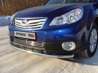 Защита передняя нижняя 50,8 мм для Subaru Outback (2010 -) SUBOUT10-01