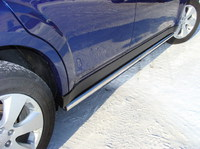Пороги труба 50,8 мм для Subaru Outback (2010 -) SUBOUT10-02