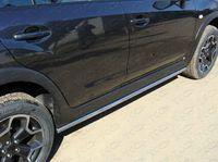 Защита порогов 42,4 мм для Subaru XV (2012 -) SUBXV12-02