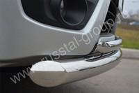 Защита переднего бампера d76/42(дуга) для Suzuki Grand Vitara 3D (2012  -) SV3Z-001105