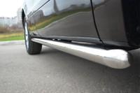 Пороги труба d63 (вариант 1) для Suzuki Grand Vitara 5D (2012  -) SVT-001094/1