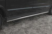 Пороги труба d60 для Ssang Yong Actyon Sports (2012 -) SYAS.80.1606