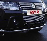 """Защита переднего бампера d60 """"труба"""" для Suzuki Grand Vitara 5D (2008 -) SZGV.48.0920"""