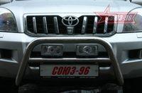 Решётка передняя мини d60 для Toyota LC 120 Prado (2003 -) TC12.56.0028