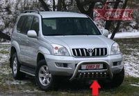 Защита нижняя (устанавливается с TC12.56.0108) для Toyota LC 120 Prado (2003 -) TC12.59.0109