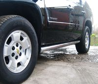 Пороги труба d76 (вариант 1) для Chevrolet Tahoe (2008 -) TCT-000623/1