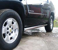 Пороги труба d76 (вариант 3) для Chevrolet Tahoe (2008 -) TCT-000623/3