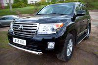 Защита переднего бампера 76 (дуга) для  Toyota Land Cruiser 200 (2012 -) TLCZ-000510