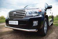 Защита переднего бампера 76L (секции-длинн.) для  Toyota Land Cruiser 200 (2012 -) TLCZ-000511