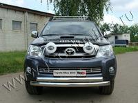 Решётка радиатора 16 мм для Toyota Hilux (2008 -) TOYHILUX10-04