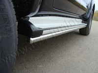 Защита порогов 42,4 мм для Toyota Hilux (2011 -) TOYHILUX12-04