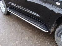 Защита порогов 42мм для Toyota Land Cruiser 200 (2007 -) TOYLC200-03