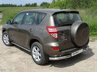 Защита задняя (уголки) 76,1 мм для Toyota RAV4 (2010 -) TOYRAV10-05